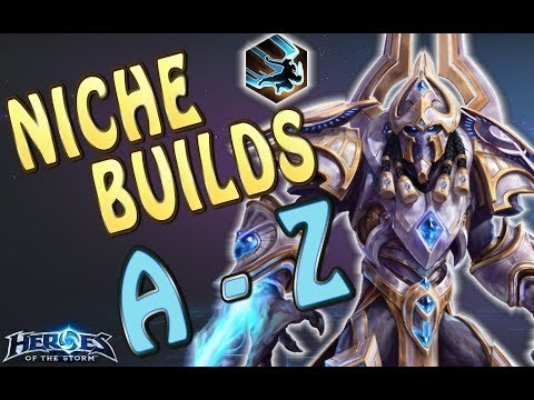 Artanis Niche Builds A-Z  | Ryoma | Heroes of the storm