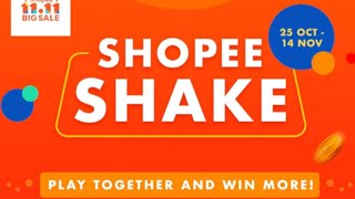 11.11 Big Sale Shopee Shake | 25 okt - 14 nov