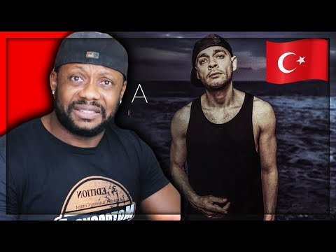 REACTING TO Ceza - Denizci - Official Lyric Video Turkish Rap Music | RealGee""