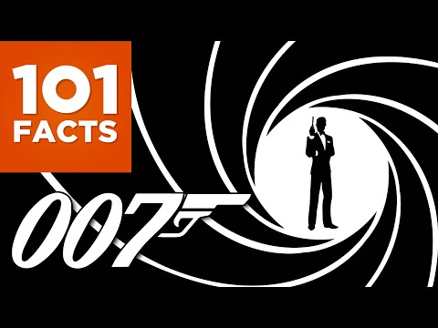 101 Facts About James Bond