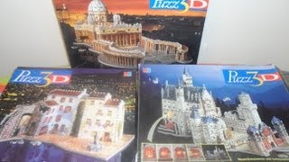 Top 3 Puzz 3d Jigsaw Puzzles Including San Pietro Rivera And Neuschwanstein Castle