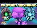 Idle Heroes P 120 Prophet Orb Summons 60 Shadow And 60 Forest mp3