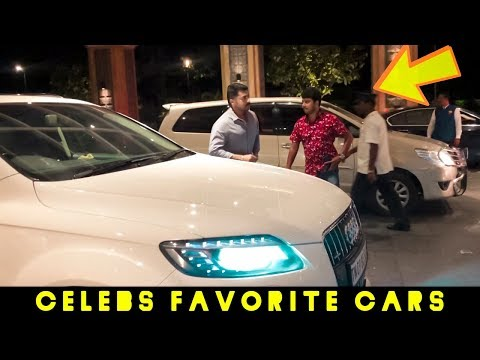 Surya, Siva, Shankar Arrive in their Favorite Cars\