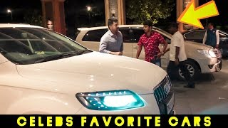 Surya, Siva, Shankar Arrive in their Favorite Cars"