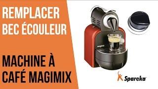 Comment remplacer le bec verseur de votre cafetière Magimix ?