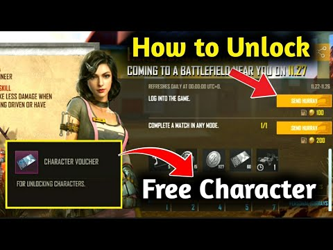 How to Unlock SARA Charter on Pubg Mobile / Get Free Sara Charter on Pubg Mobile