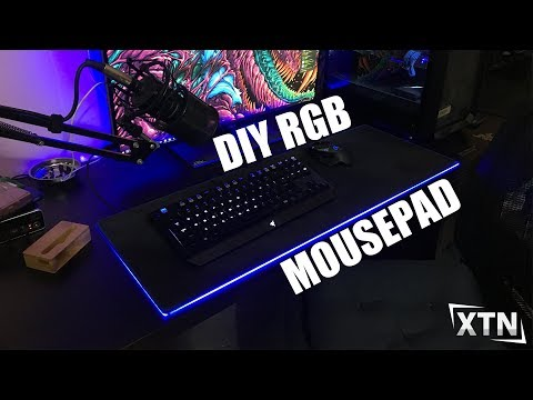 DIY Extended RGB Mousepad