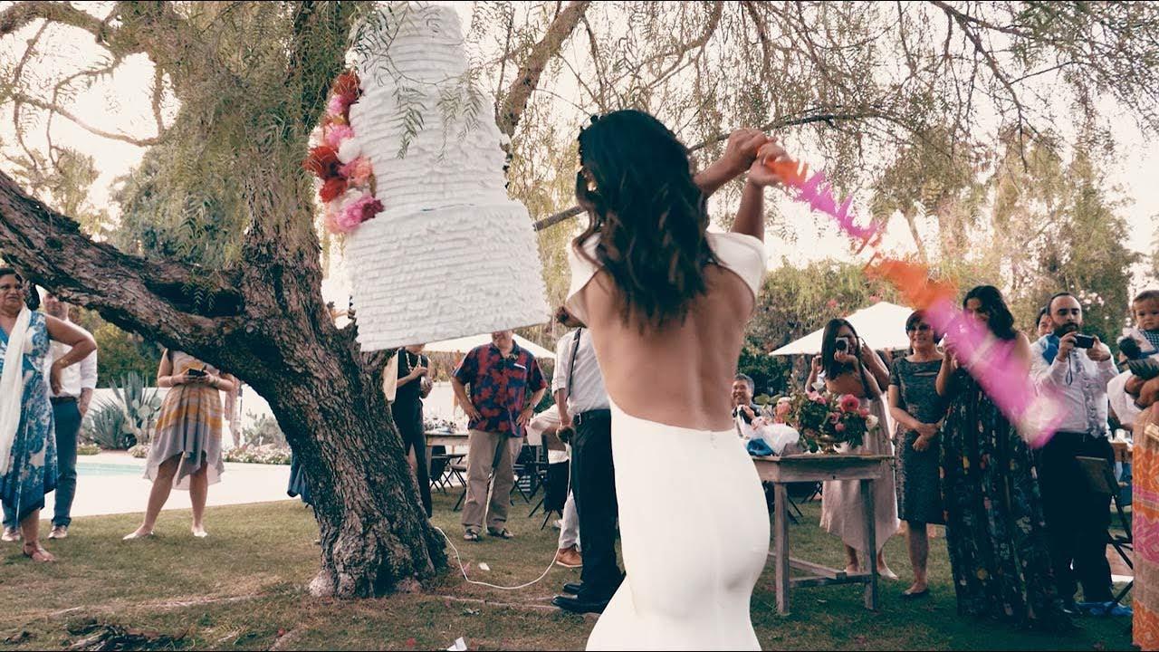 Karen Clay S Day Wedding Piñata Video