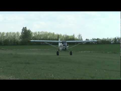 Bellanca Scout GWEC Takeoff