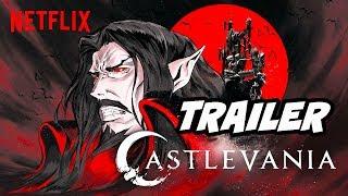 Castlevania Season 2 Trailer - Dracula vs Alucard Netflix Anime Explained