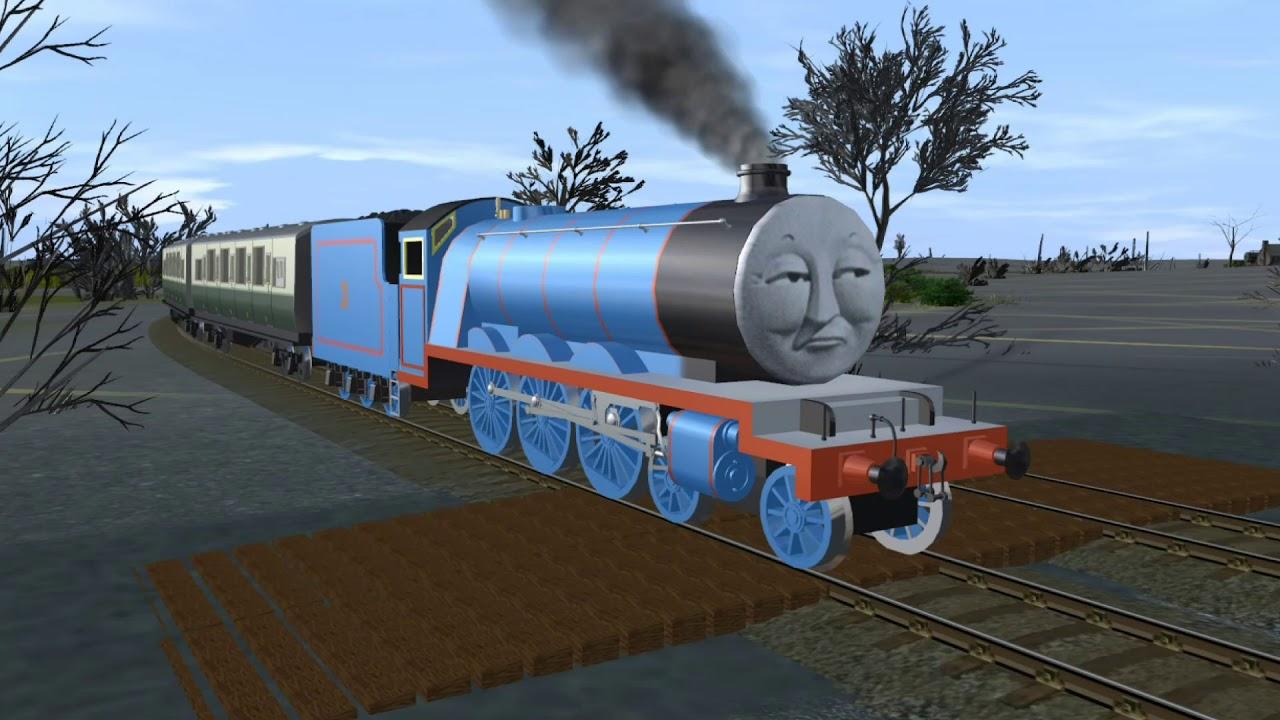 Thomas the Trainz Engine: The Whistle Song Instrumental MV