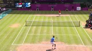 Roger Federer   Juan Martin Del Potro Olympics 2012 SF