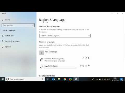 How To Add Or Remove Language Keyboards On Windows 10 Computers