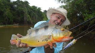 Pesca en el Río Guapore (Frontera Rondonia - Beni)