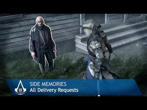 Assassin's Creed 3 - Side Memories - All Delivery Requests