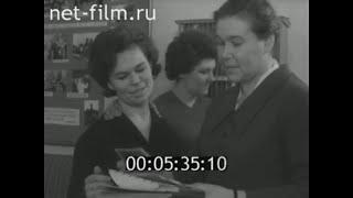 Поздравления И.С. Точиленко с присвоением звания Заслуженный учитель РСФСР.