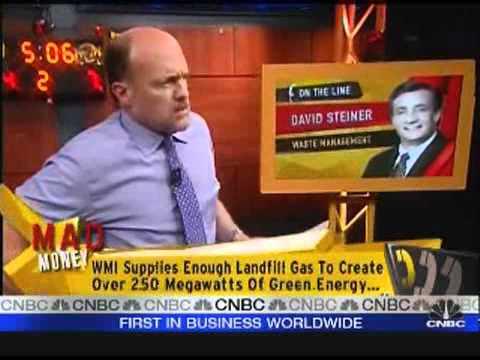 Cramer Interviews Waste Management Inc Ceo