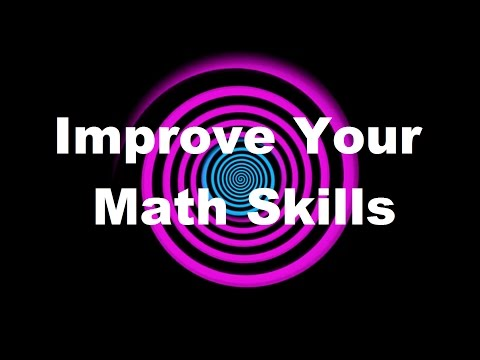 Hypnosis: Improve Your Math Skills (Request)
