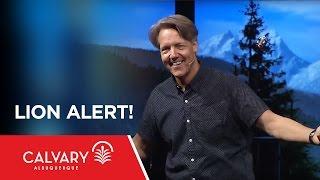 Lion Alert! - 1 Peter 5:8-9 - Skip Heitzig Mp3