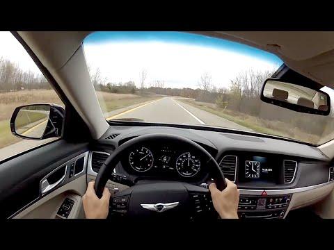 2015 Hyundai Genesis 5.0 WR TV POV Test Drive