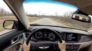 2015 Hyundai Genesis 5.0 WR TV POV Test Drive смотреть