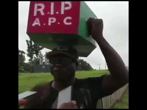 Angry Nigerian man who trekked for Buhari 4years back to celebrate his victory Mp3