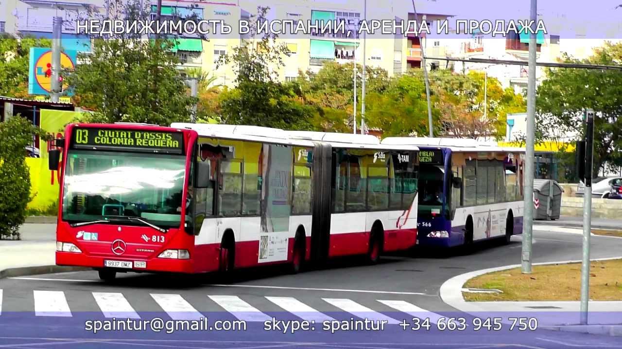 Автобус из мадрида в бенидорм