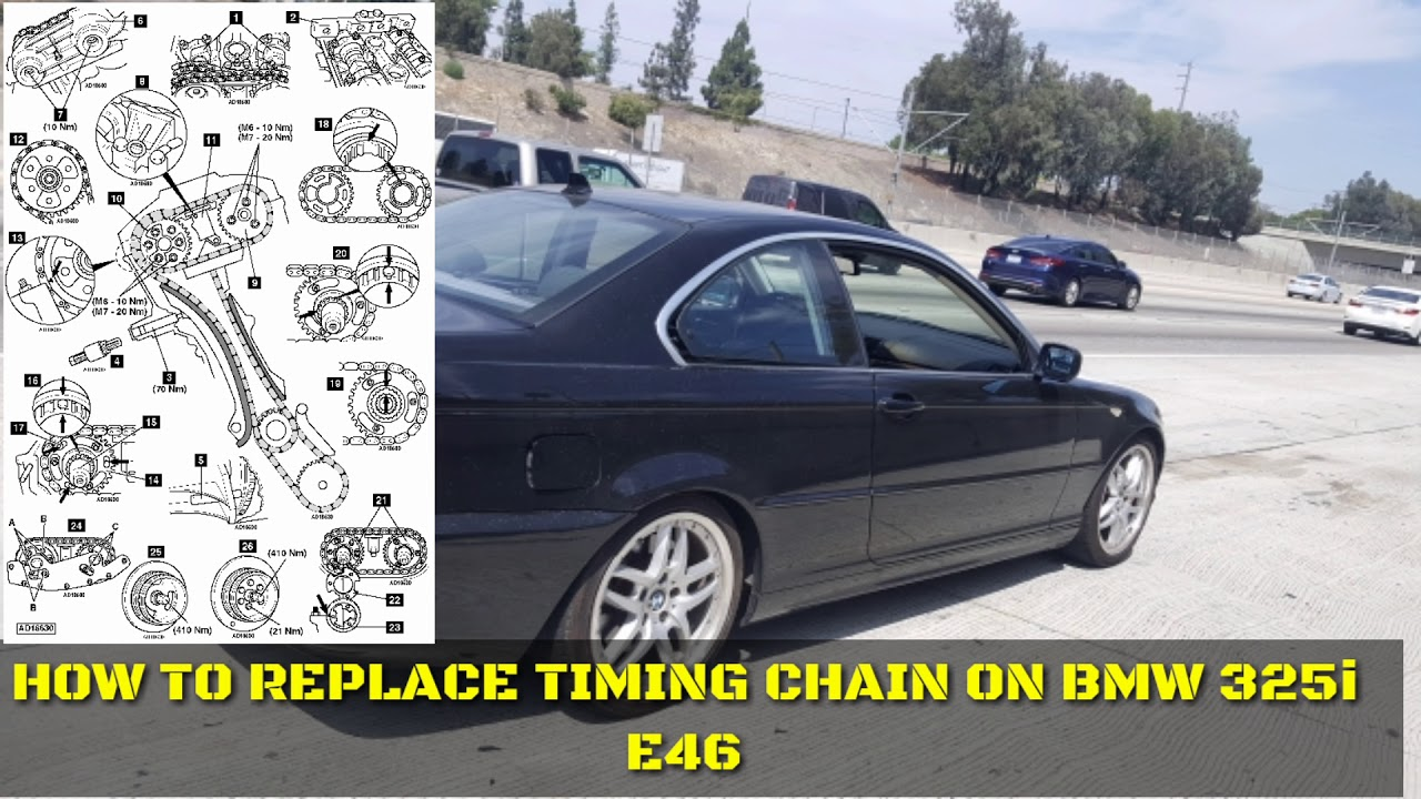 bmw e46 325i timing chain replacement