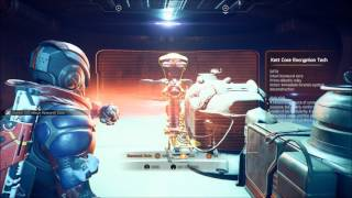 Mass Effect Andromeda Access the Secure Storage Kett Base Attack Get Soned III