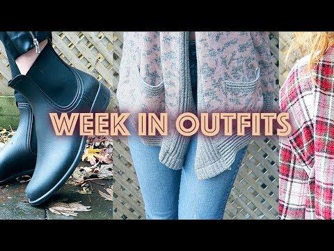 WEEK IN OUTFITS - FALL / WINTER LOOKBOOK 2017 3