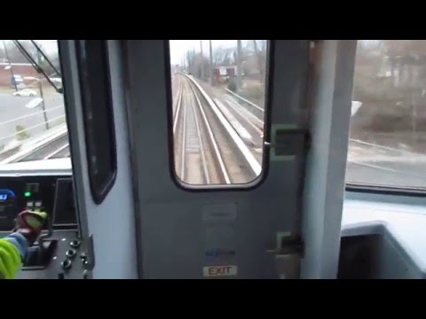 PATCO #1048 - New Railfan Window and Cab Signals