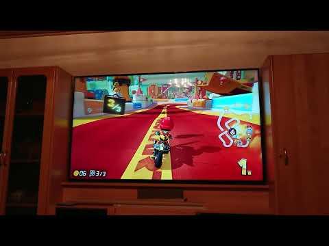 Mario Kart 8 Deluxe Gold Crown ÆM#Björk Mii
