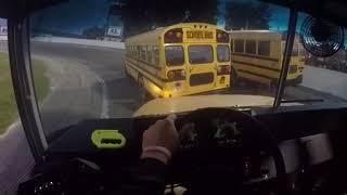 Anderson speedway school bus figure 8 wreck