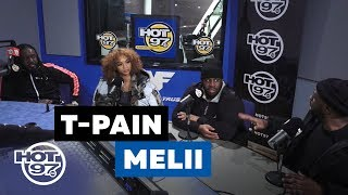 City On Lean w/ Funk Flex & DJ Spazo Sits Down w/ Melii & T-pain
