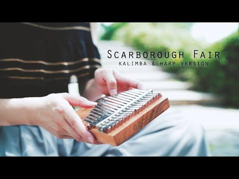 Scarborough Fair - Kalimba & Harp Version - Relaxing Music For Sleeping, Peaceful Music