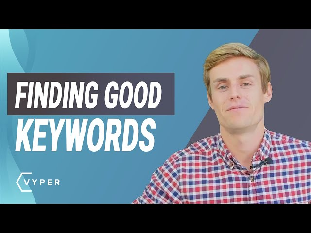 Finding Good Keywords to Boost Website Traffic