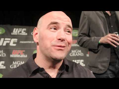 Dana White on Spike TV Negotiations