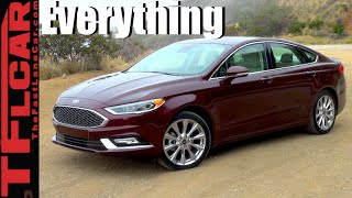 2017 Ford Fusion Platinum First Look & Review: More Luxury, More Refined