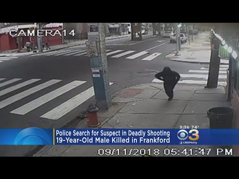 Suspect Sought In Deadly Frankford Shooting