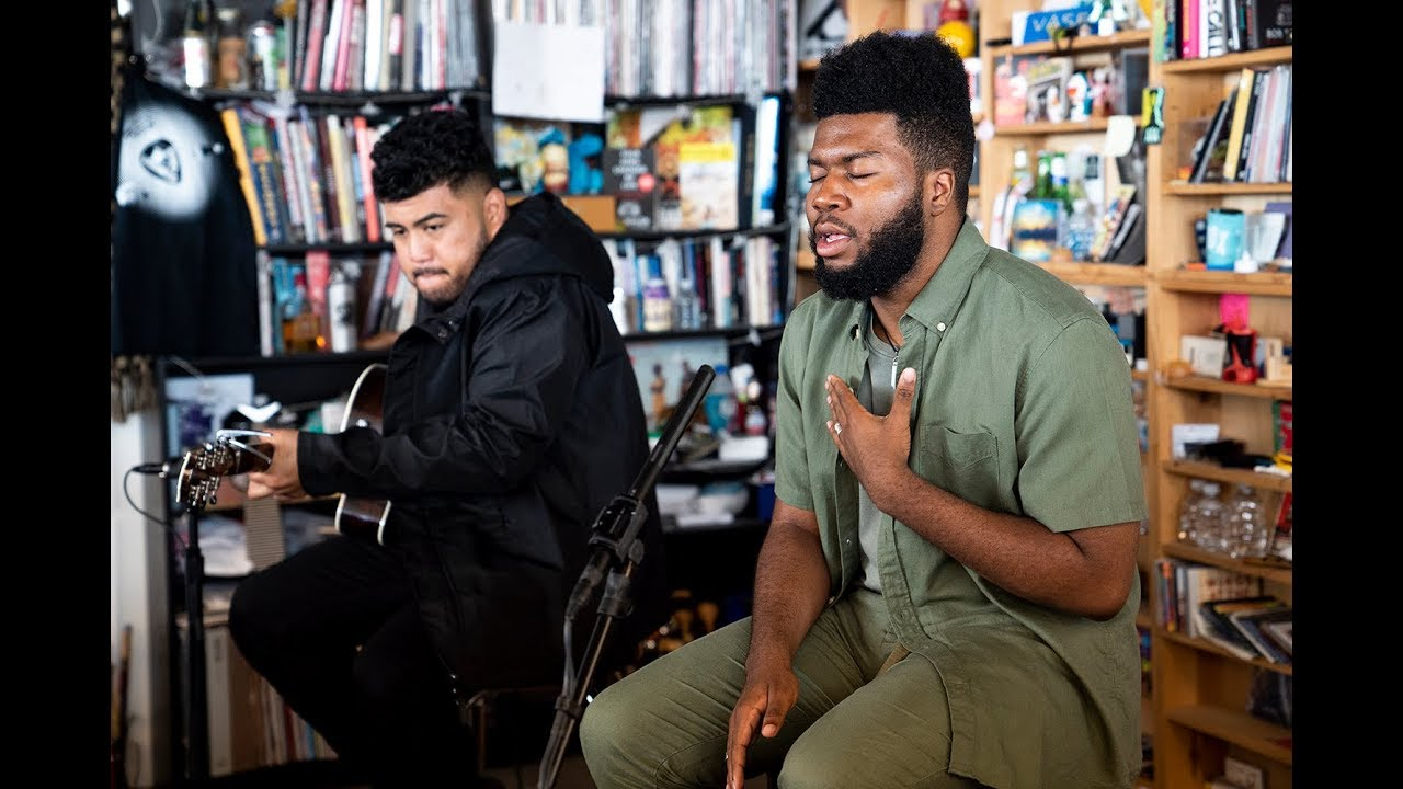Khalid: NPR Music Tiny Desk Concert