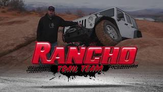 Rancho high-steer knuckles for the Jeep Wrangler JK platform