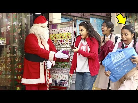Scary Santa Claus Prank | Christmas Special | BOB -Raj