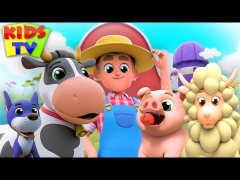 Old Macdonald Had A Farm   Kids Tv Nursery Rhymes   This Is The Way   Wheels On The Bus