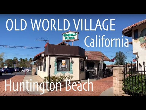 Old World Village Huntington Beach Orange County California USA