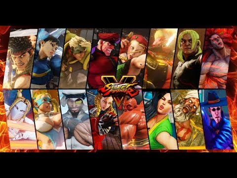 How To Unlock All Characters Arenas And Dlc In Street Fighter 5