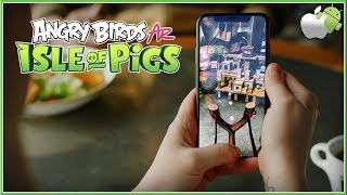 ANGRY BIRDS FPS : First Person Slingshot - NEW AR Isle Of Pigs LAUNCH Trailer 2019 (HD)