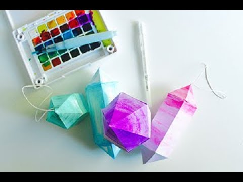 Make Sparkling Paper Gems with Made by Marzipan
