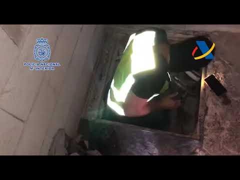 Ocho detenidos en un intento de abrir una vía de entrada de cocaína a través del Puerto de Málaga