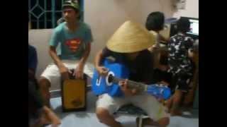 [mitxi tong] chuyen hoa sim guitar + sáo