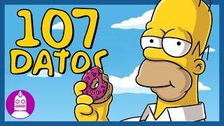 107 Datos De Los Simpson Que DEBES Saber (Atómico #152) en Átomo Network